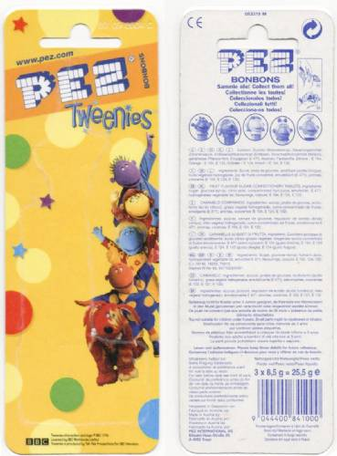 PEZ - Card MOC -Animated Movies and Series - Tweenies - Bella