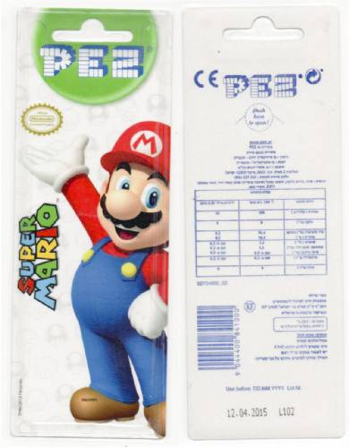 PEZ - Card MOC -Animated Movies and Series - Nintendo - Toad - nude neck