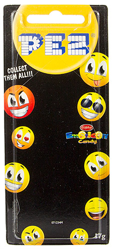 PEZ - Card MOC -Funky Faces - Emoticons - Cheeky - Australian release