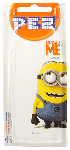PEZ - Card MOC -Despicable Me - Minion Dave - without mouth - A
