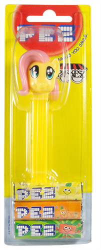 PEZ - Card MOC -Animated Movies and Series - My little Pony - Fluttershy