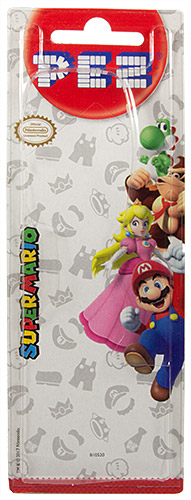 PEZ - Card MOC -Animated Movies and Series - Nintendo - Princess Peach