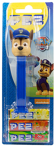 PEZ - Card MOC -Animated Movies and Series - Paw Patrol - Chase