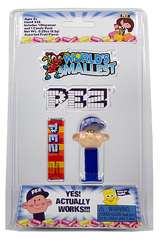 PEZ - Card MOC -Miscellaneous - World's smallest PEZ - PEZ Boy