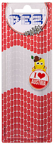 PEZ - Card MOC -Miscellaneous - I ♥ Austria - Puck Vienna City Hall