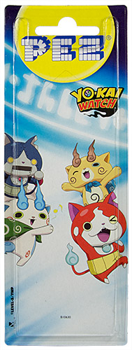 PEZ - Card MOC -Animated Movies and Series - Yo-Kai Watch - Komasan