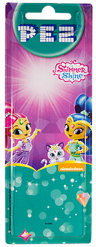 PEZ - Card MOC -Animated Movies and Series - Shimmer and Shine - Shine
