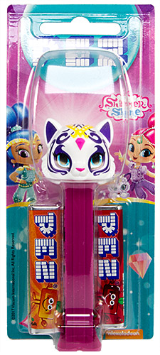 PEZ - Card MOC -Animated Movies and Series - Shimmer and Shine - Nahal