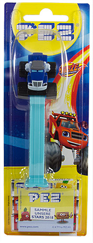 PEZ - Card MOC -Blaze and the Monster Machines - Crusher