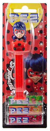 PEZ - Card MOC -Animated Movies and Series - Miraculous - Ladybug