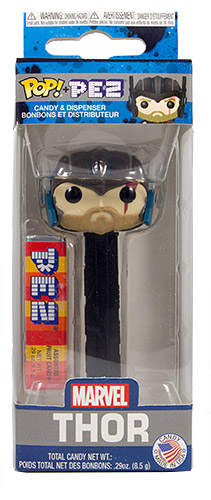 PEZ - Card MOC -Funko POP! - Marvel - Thor