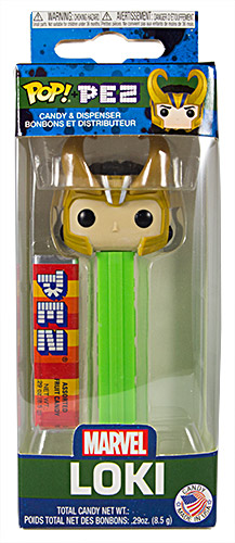 PEZ - Card MOC -Funko POP! - Marvel - Loki