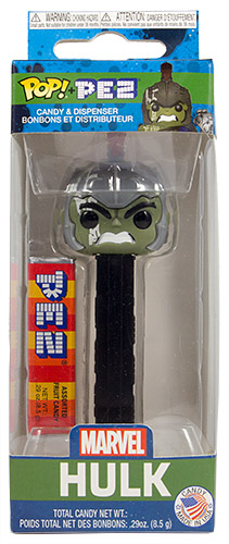 PEZ - Card MOC -Funko POP! - Marvel - Hulk