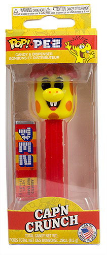 PEZ - Card MOC -Ad Icon - Crunchberry Beast - spots without outline - A