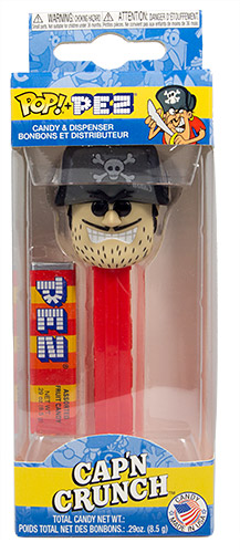 PEZ - Card MOC -Ad Icon - Jean LaFoote - Skull with black eyes - A
