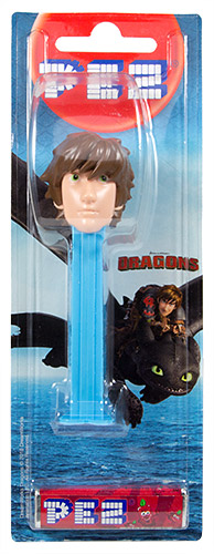PEZ - Card MOC -How to Train Your Dragon - Hicks
