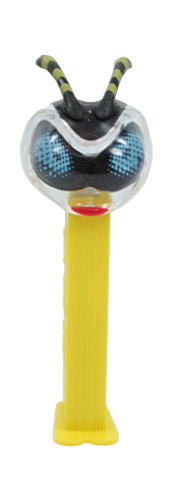 PEZ - Bugz - Crystal Collection - Bee - Clear Crystal Head