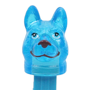 PEZ - Charity - Digger the Dog - Crystal Blue Head