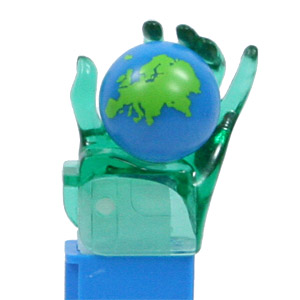 PEZ - Linz Gathering - 2005 - Crystal Hand - Green Crystal Hand