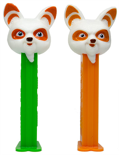 PEZ - Kung Fu Panda - Master Shifu - smaller eyes