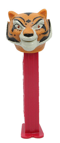 PEZ - Kung Fu Panda - Master Tigress - small dot