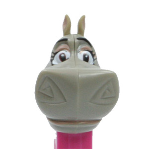 PEZ - Dreamworks Movies - Madagascar - Gloria - painted ears