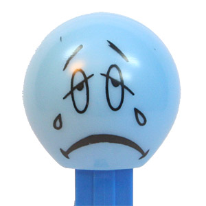 PEZ - Funky Faces - Funky Faces - Sad