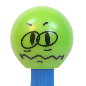 PEZ - Funky Faces - Funky Faces - Worried
