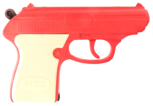 PEZ - Guns - Candy Shooter - Orange with White Grip
