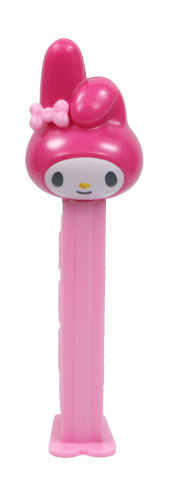 PEZ - Hello Kitty - My Melody - Pink and White Head