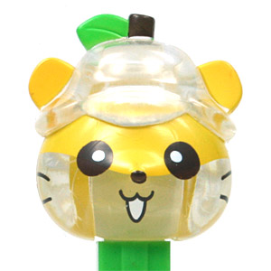 PEZ - Crystal Collection - Kuririn - Clear Crystal and Green Head