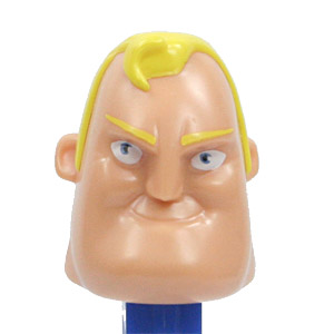 PEZ - Incredibles, The - Incredibles 1 - Bob Parr - Unmasked