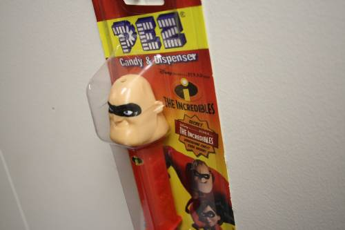 PEZ - Incredibles, The - Incredibles 1 - Mr. Incredible - Masked