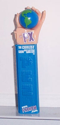PEZ - Miscellaneous - 2005 - FX - Purple with White