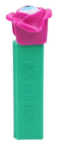 PEZ - Miscellaneous - Psychedelic Flower - Pink Flower, Blue Eye - B