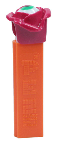 PEZ - Miscellaneous - Psychedelic Flower - Red Flower, Green Eye - B