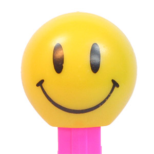 PEZ - Funky Faces - Walmart Smileys - Walmart Smiley