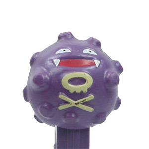 PEZ - Animated Movies and Series - Pokémon - Koffing