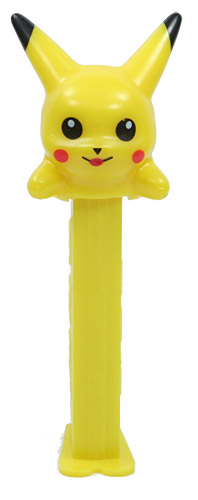 PEZ - Animated Movies and Series - Pokémon - Pikachu - A