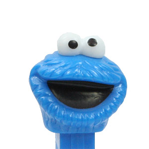 PEZ - Sesame Street - Cookie Monster - Blue Head