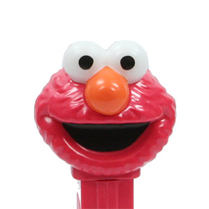 PEZ - Animated Movies and Series - Sesame Street - Elmo - Red Head