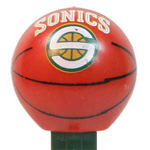 PEZ - Sports Promos - Basketball - Seattle SuperSonics