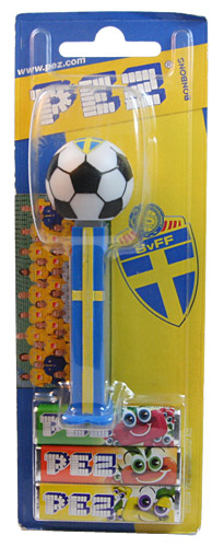 PEZ - Sports Promos - Soccer - Swedish - Swedish Soccer Ball 2002