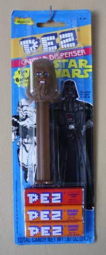 PEZ - Star Wars - Series A - Chewbacca - A