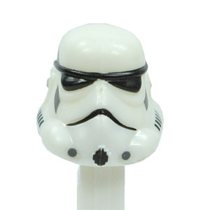 PEZ - Star Wars - Series A - Stormtrooper - ivory white