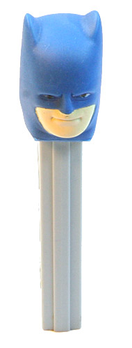 PEZ - Super Heroes - Soft-Heads - Batman - Soft-Head