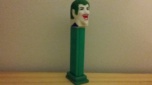 PEZ - Super Heroes - Soft-Heads - Joker - Soft-Head