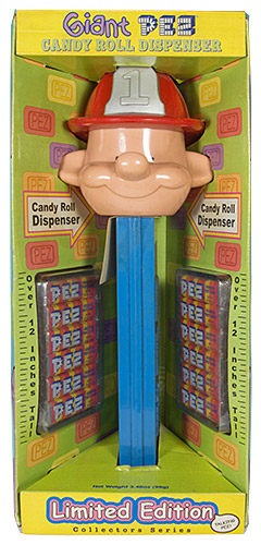 PEZ - Giant PEZ - Miscellaneous - Fireman