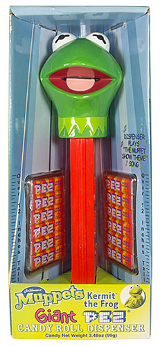 PEZ - Giant PEZ - Muppets - Kermit the Frog