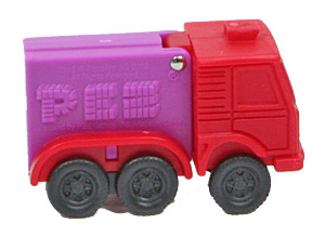 PEZ - Party Favors - Trucks - Truck - Red Cab
